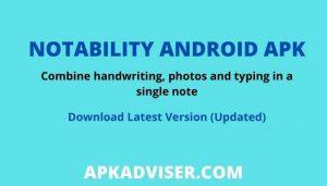 Download Notability apk