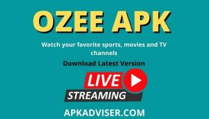 OZEE APK for android