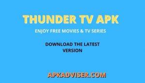 Thunder Apk