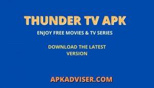 Thunder TV Apk
