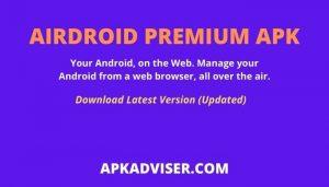 Airdroid Premium APK