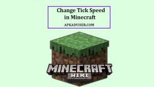 Change Tick Speed in Minecraft