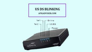 how to fix the US DS Blinking