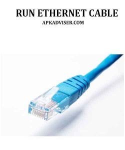 how to run ethernet cable along wall