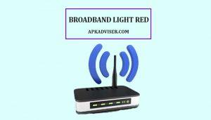 solid red broadband light