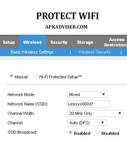 How to protect WiFi from neighbors